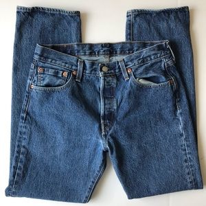 Vintage Levi's 501 Dark Wash Mom Jeans